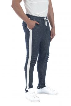 FRENCH TERRY PANT BLUE