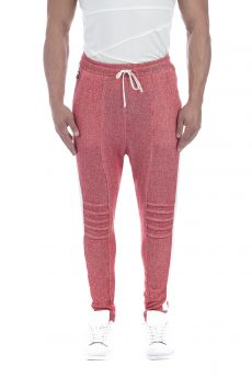 FRENCH TERRY PANT RED