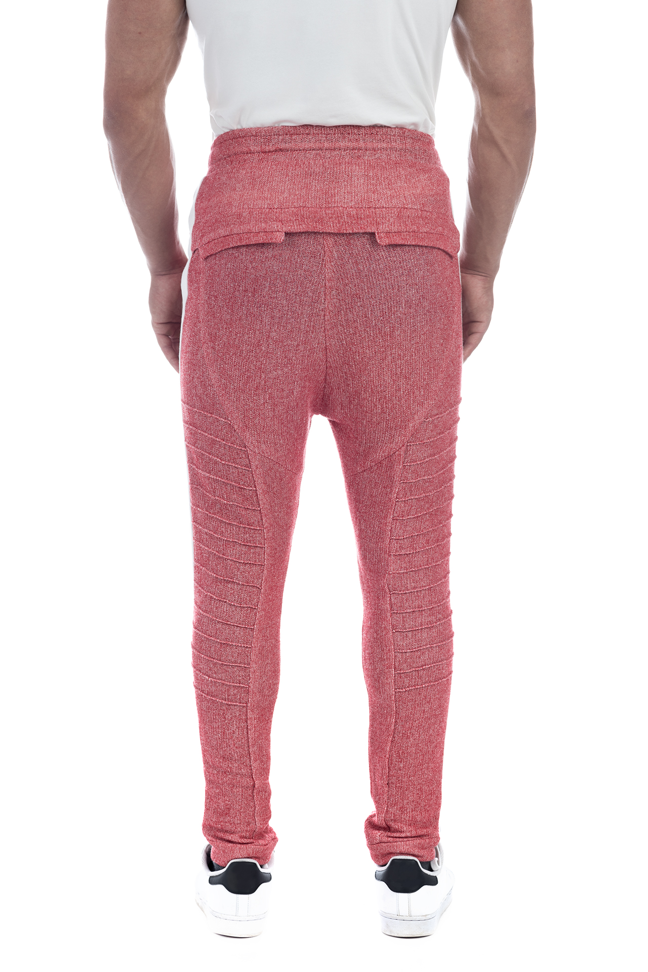 FRENCH TERRY PANT RED 3