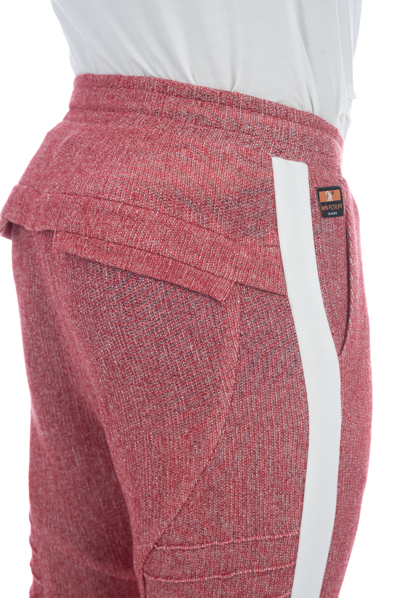 FRENCH TERRY PANT RED 4