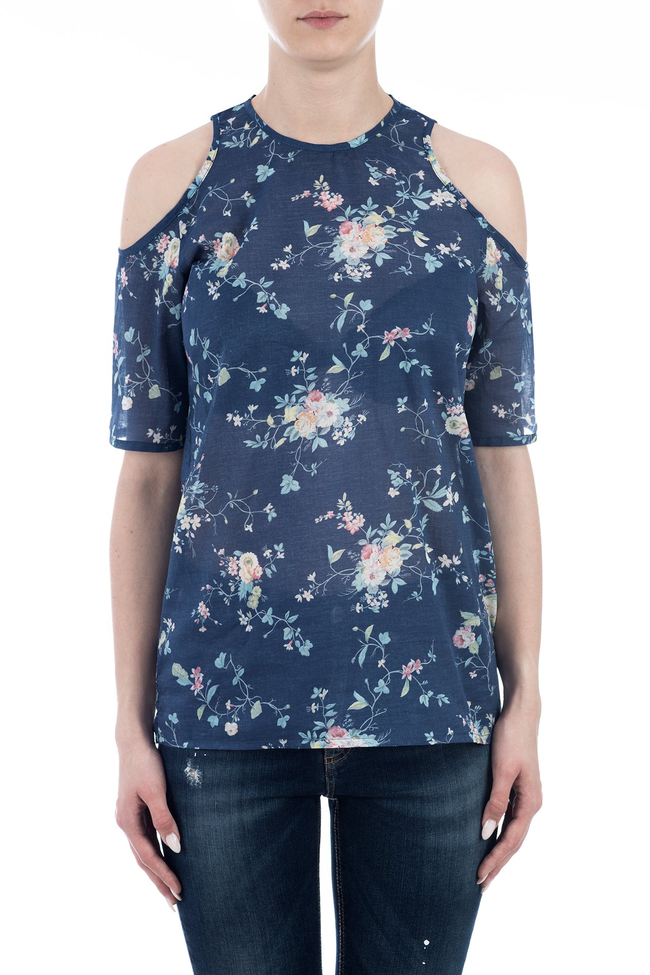 TOP COTTON PRINT FLOWER 2