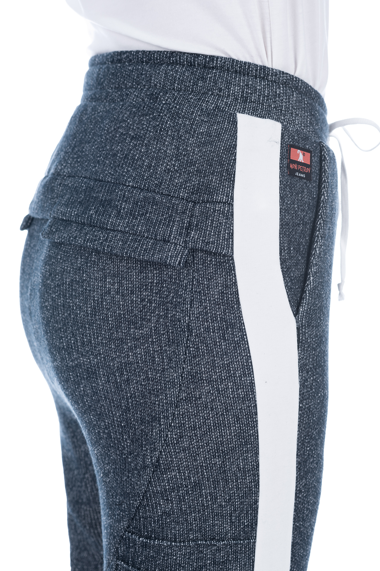 FRENCH TERRY PANT BLUE 4