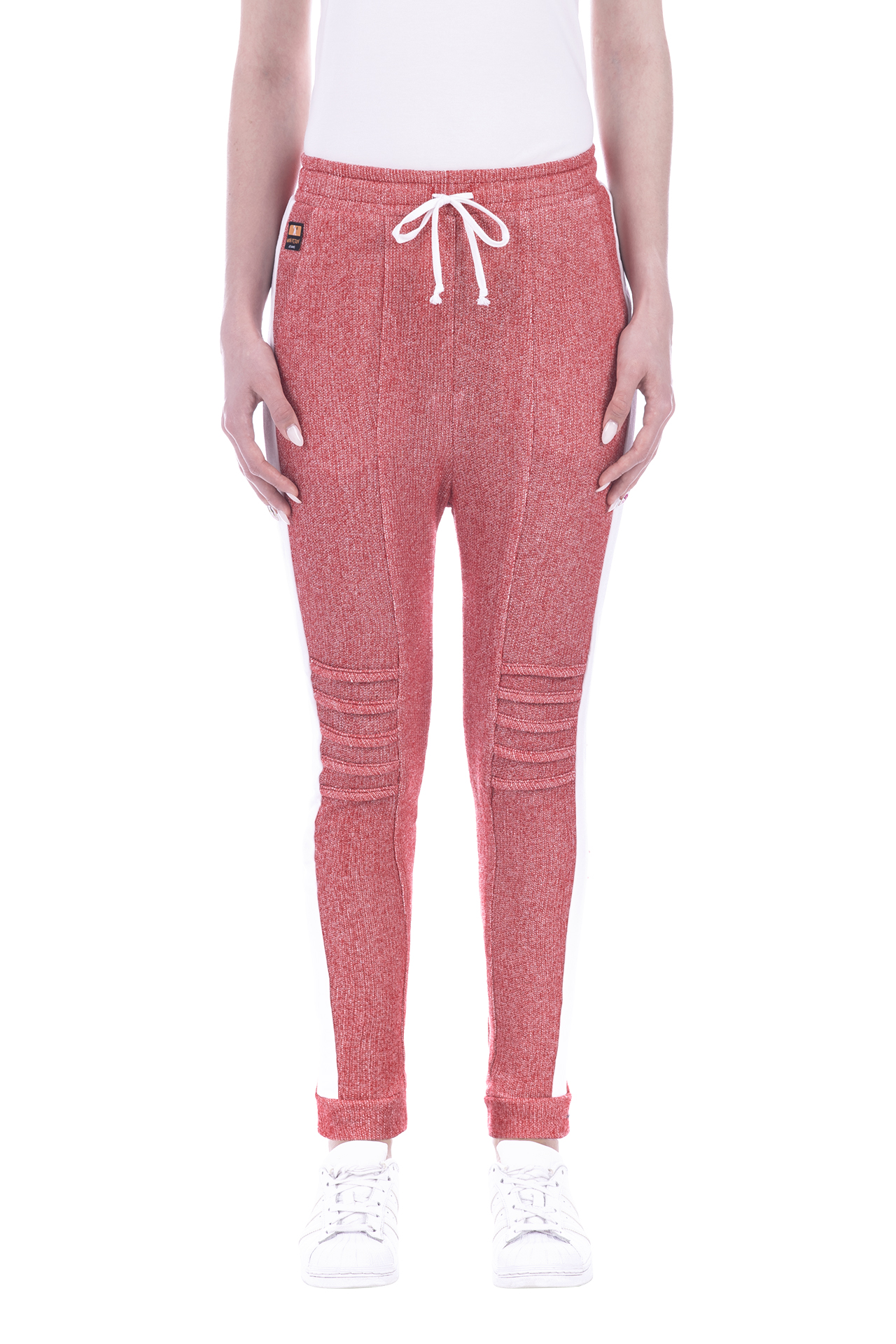 FRENCH TERRY PANT RED 2