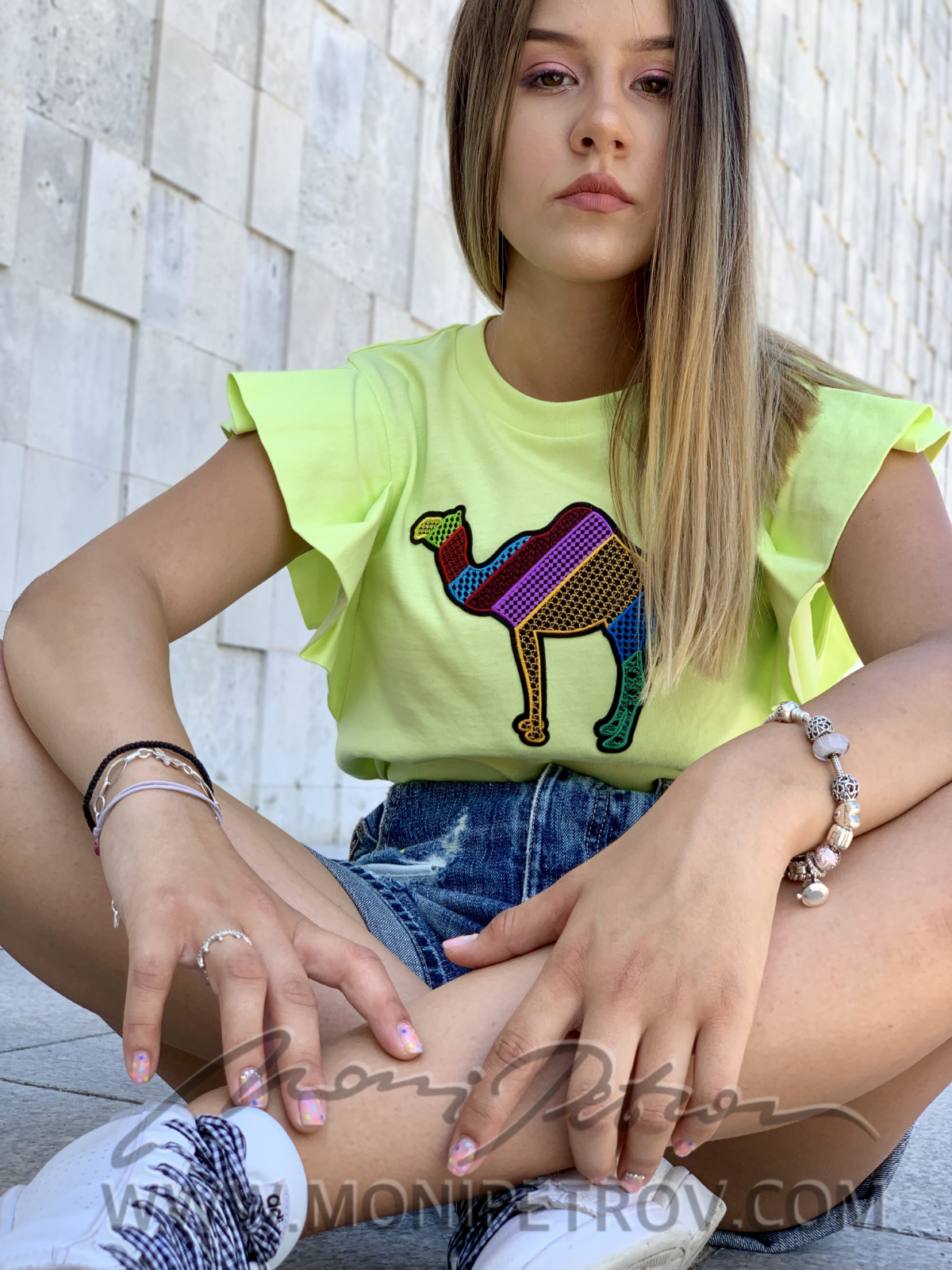 Top Lina Green Kamila 3