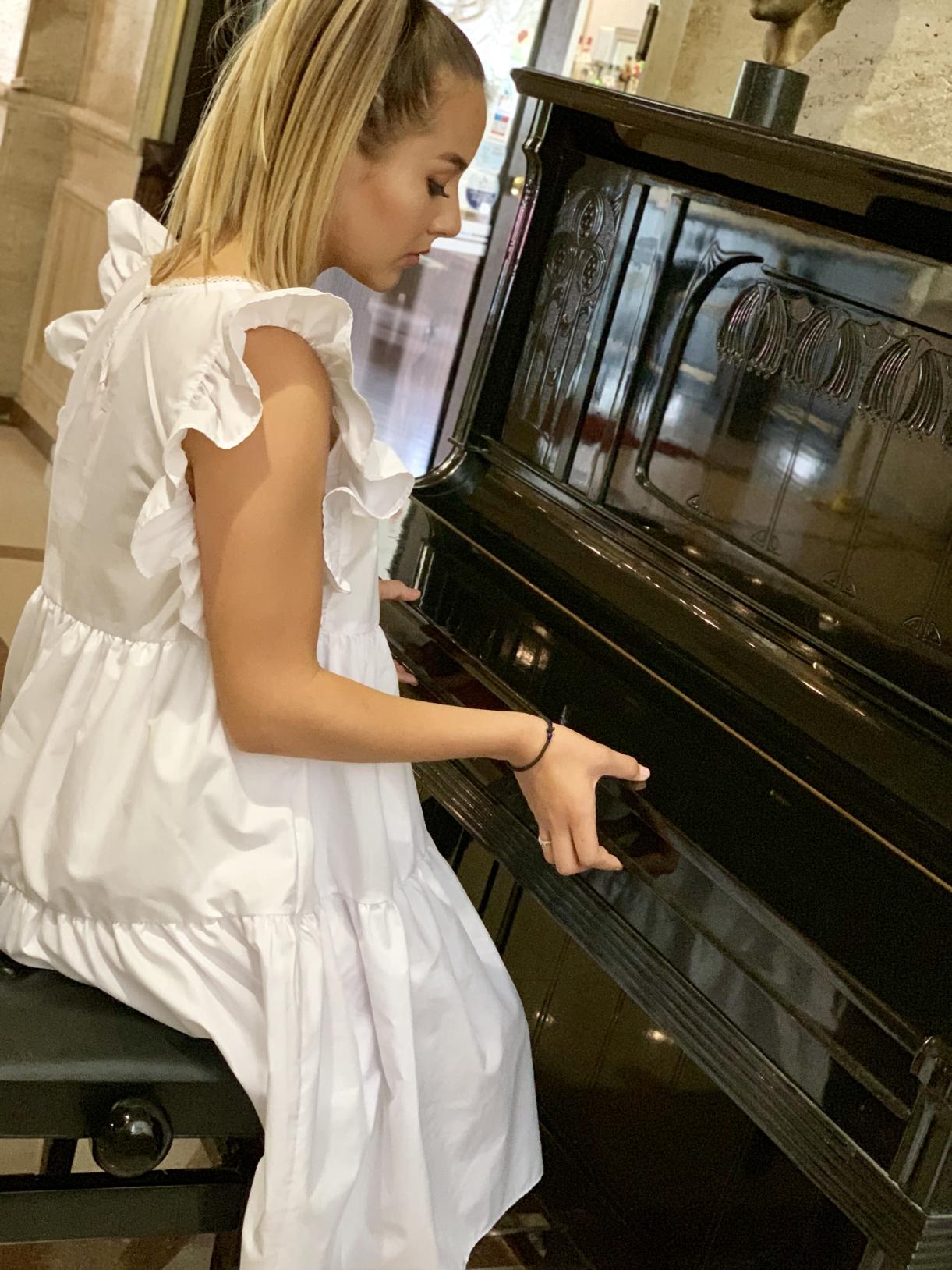 Dress Tanita White 2
