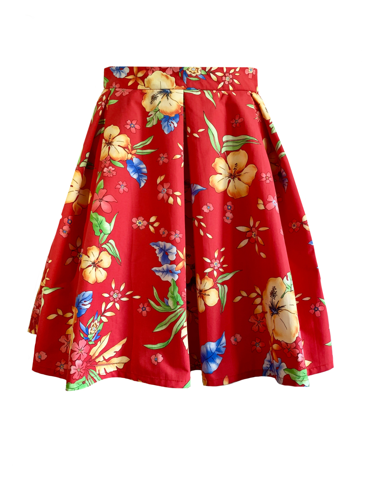 SKIRT SIMI RED FLOWER 2