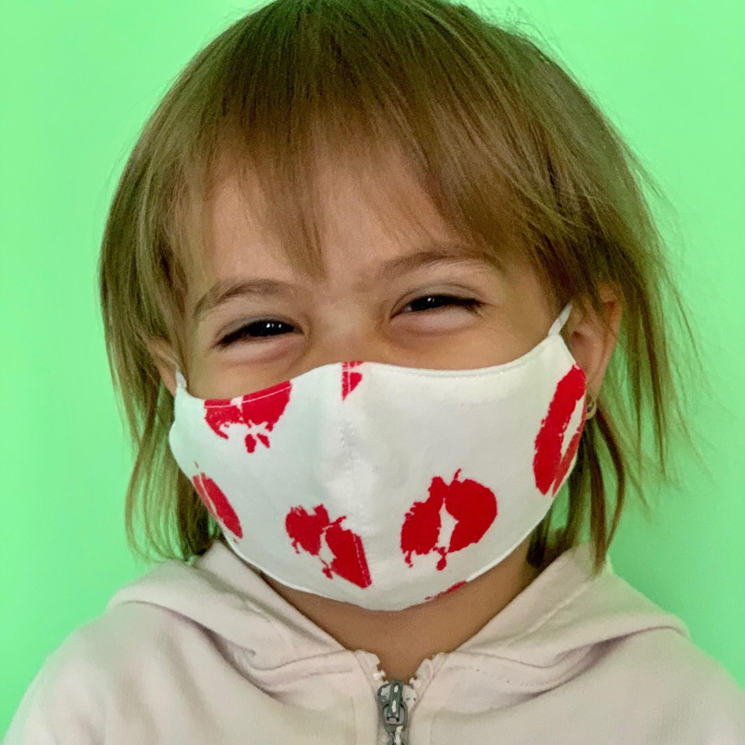 АКСЕСОАР ЗА ЛИЦЕ ДЕТСКИ 100% памук от 2-10г. възраст 1