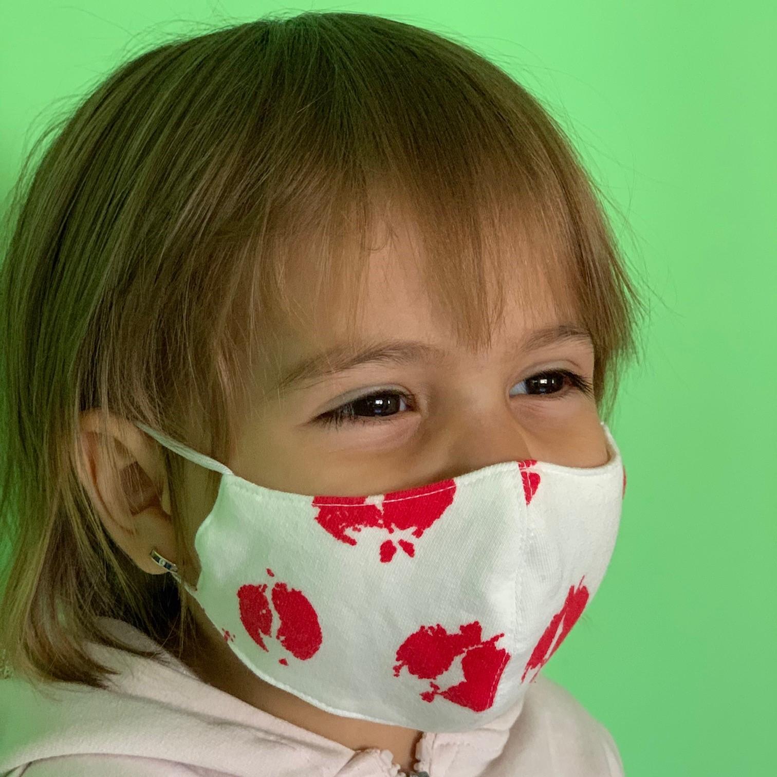 АКСЕСОАР ЗА ЛИЦЕ ДЕТСКИ 100% памук от 2-10г. възраст 5