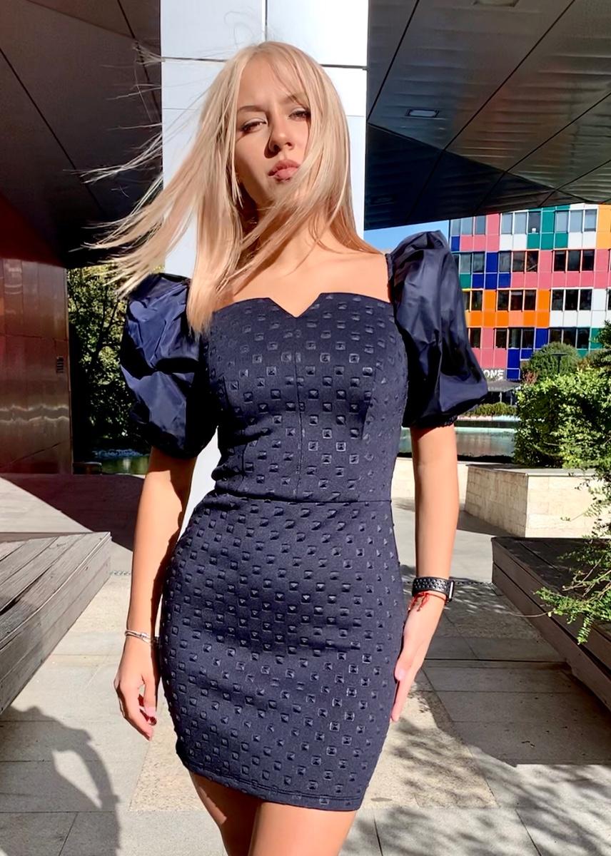 DRESS TERINA DARK BLUE 2