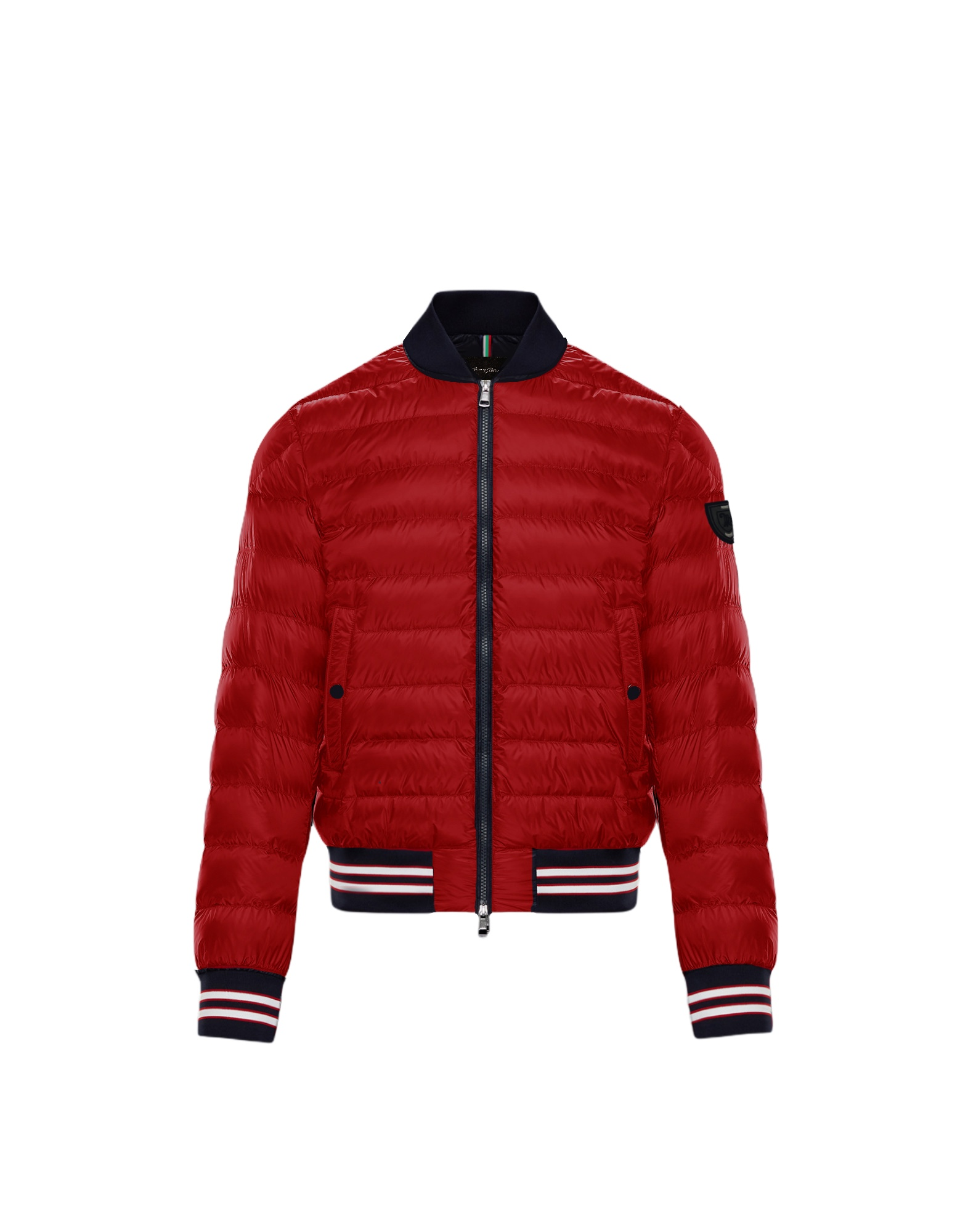 BOMBER DOWN JACKET RED 1